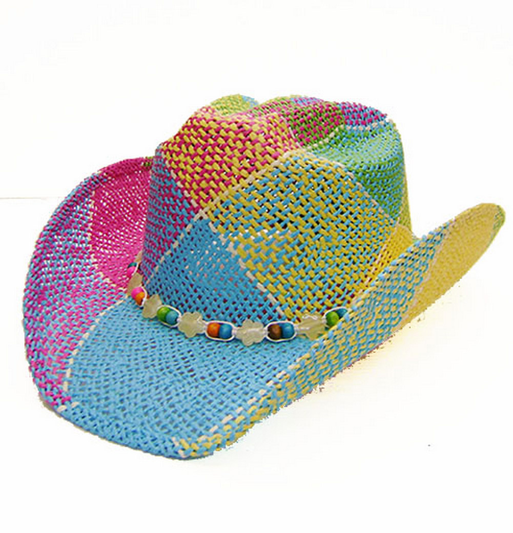 canada usa international quality fit style comfort guaranteed modestone straw western country cowboy hat wire in brim elastic sweatband small size kids XS western country line dancing horse riding horseshoe Rodeo, Bulls,  equestrian tack dude ranch  fashion accessories distributor wholesale retail
