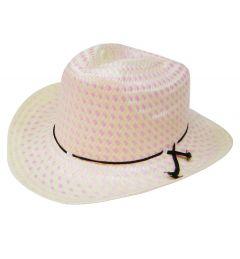 Modestone Straw Cowboy Hat