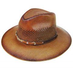Modestone Straw Cowboy Hat Beige