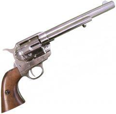 "Modestone Replica .45 Caliber Colt Peacemaker Revolver 13"" 1873"