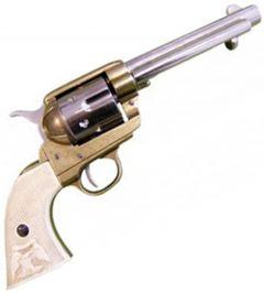 "Modestone Replica .45 Caliber Colt Peacemaker Revolver 11"" 1873"