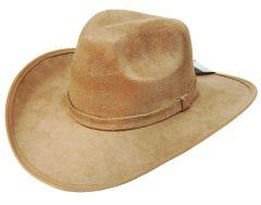 Modestone ''Felt Feel'' Cowboy Hat Beige