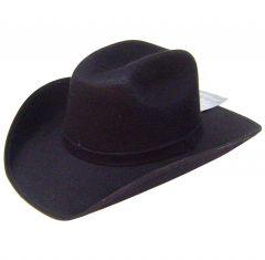 Modestone ''Felt Feel'' Cowboy Hat Black