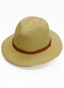 Modestone Women's Straw Cowboy Hat Beige