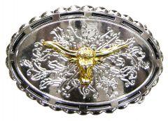 Modestone Metal Alloy Trophy Belt Buckle Bull Head 3 3/4'' X 2 3/4''