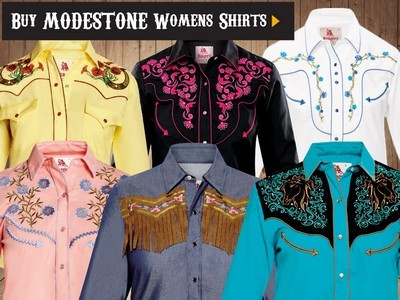 western country rodeo line dancing Ladies Fine Quality Cotton and Polycotton Shirts For the Entire Family. Washable, easy-care fabrics, non shrink and no ironing. Most products with detailed embroidering on the front, back and cuffs with rhinestones. All items can be ordered in long and short sleeves.